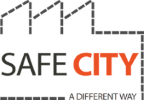 English logo of project Safe City